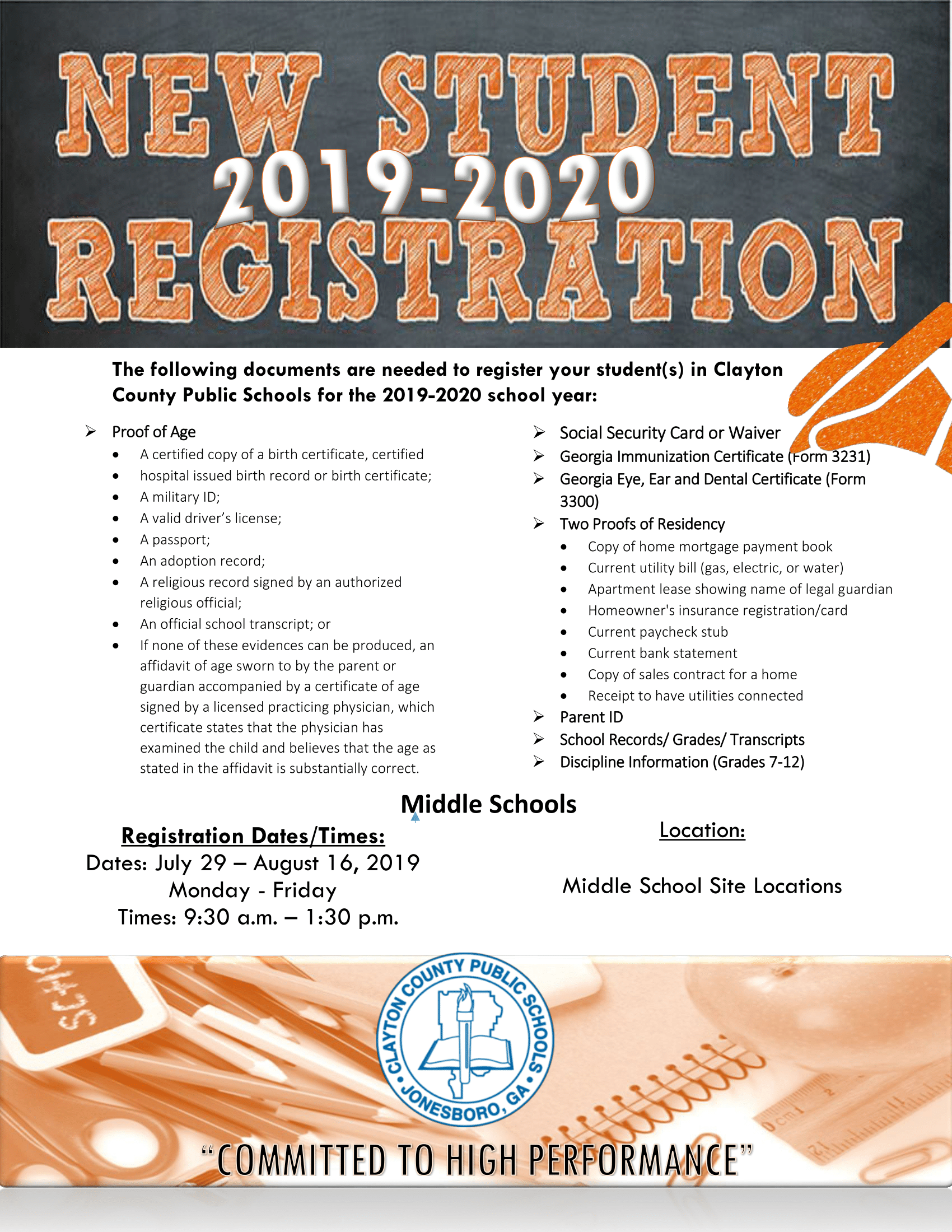 20192020 New Student Enrollment