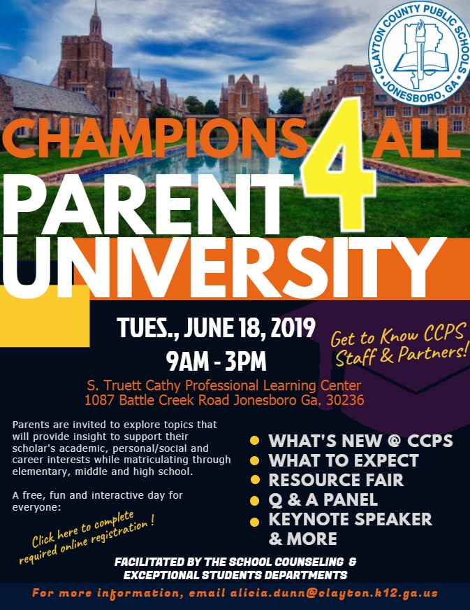 Parent University Event